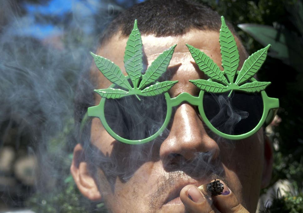 Almost as many teenagers smoke cannabis as cigarettes, study