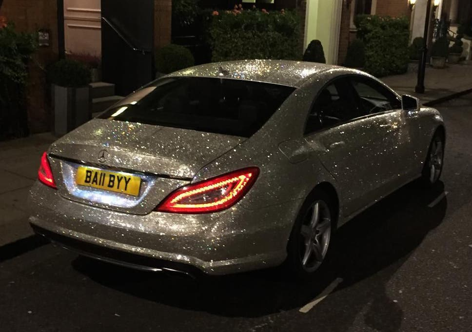 19956207174d93 A millionaire student is selling her Swarovski-encrusted Mercedes to raise  money for two animal