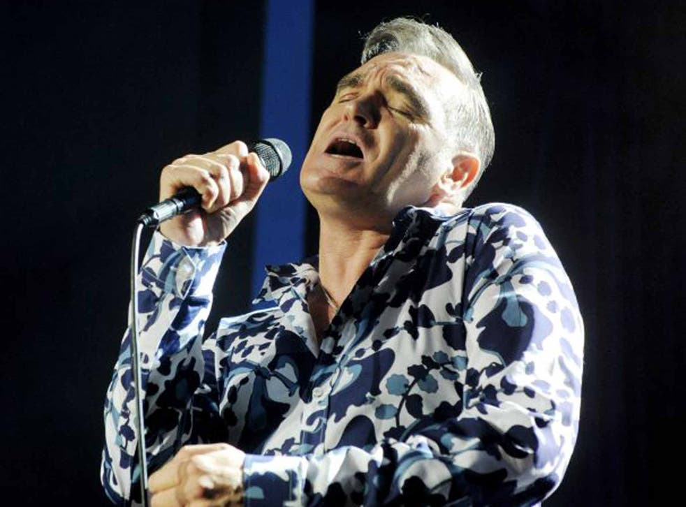 Stick to the singing please Morrissey?