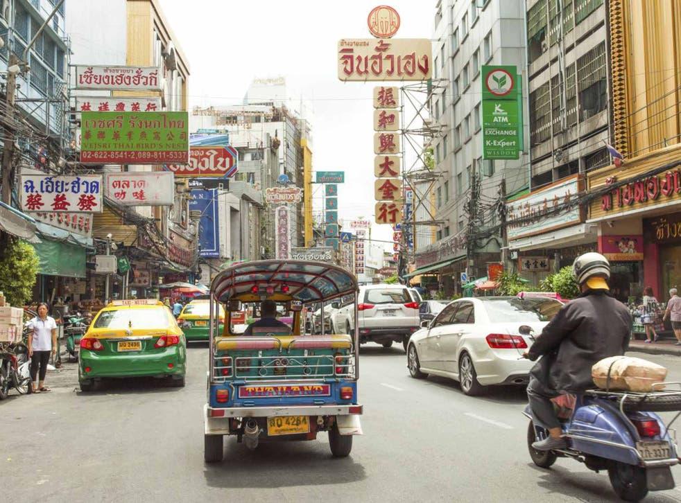Rush hour: bustling Bangkok is home to 10 million people