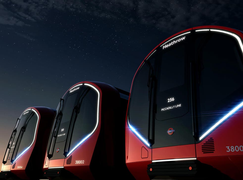 A fleet of 250 new 'driverless' Tube trains will be introduced onto the network in the mid-2020s