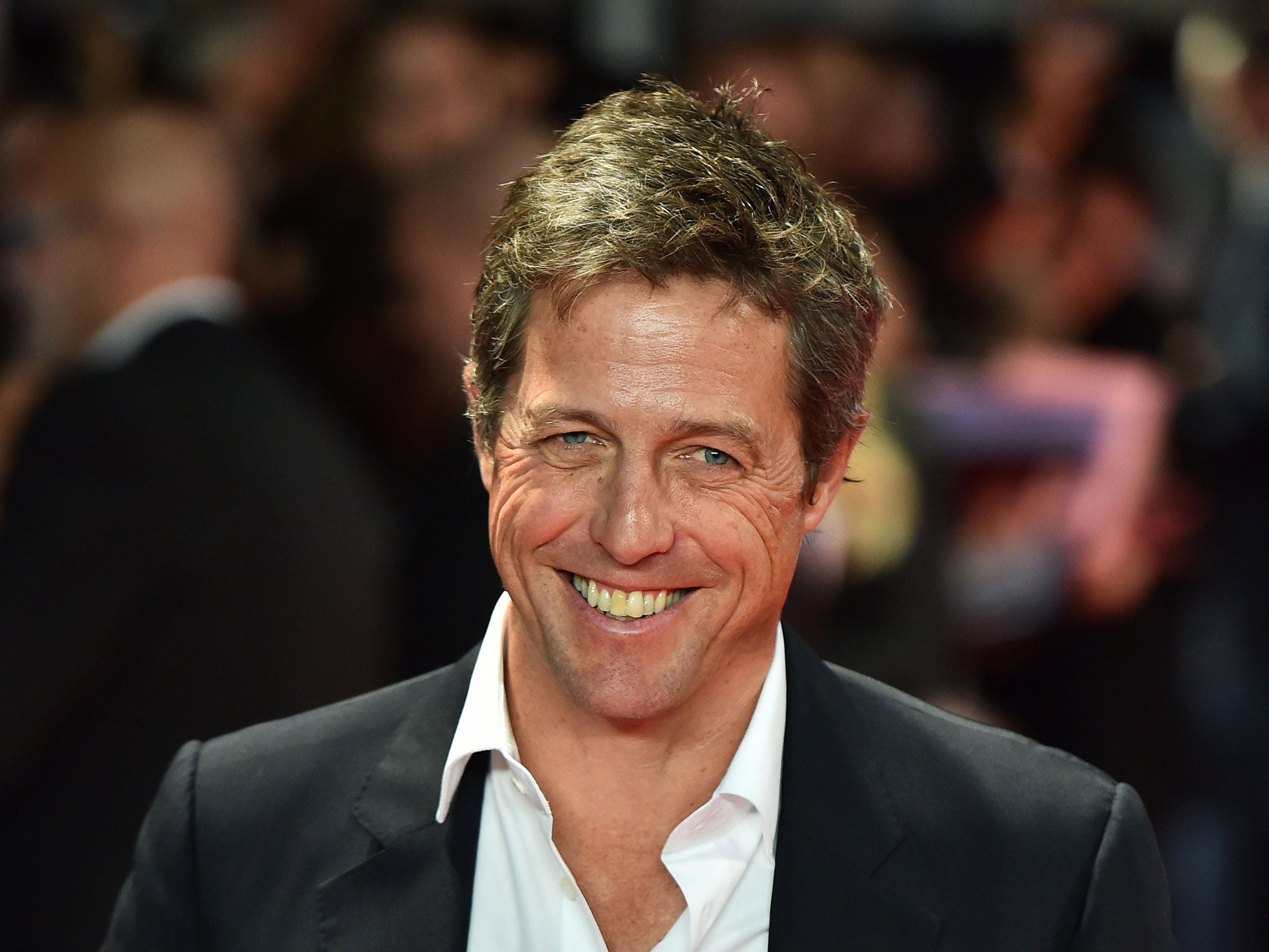 Hugh Grant on playing ...