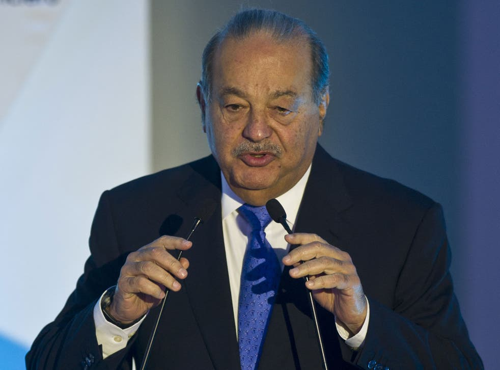 Carlos Slim Helu, Mexican telecoms mogul