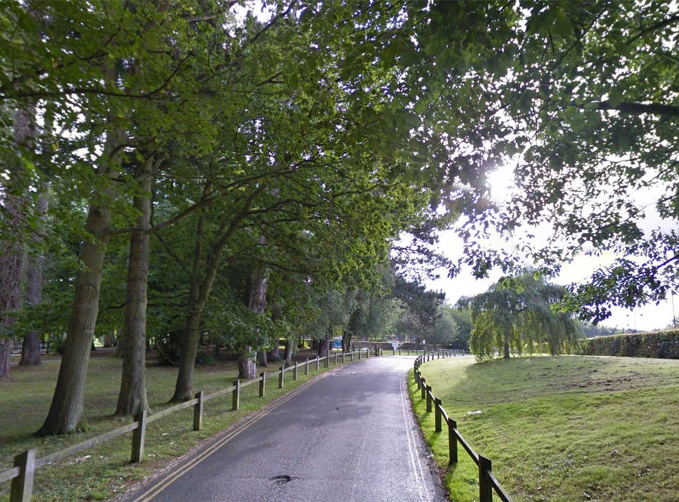 Tilgate park in Crawley where a school girl was attacked by a 35-year-old man