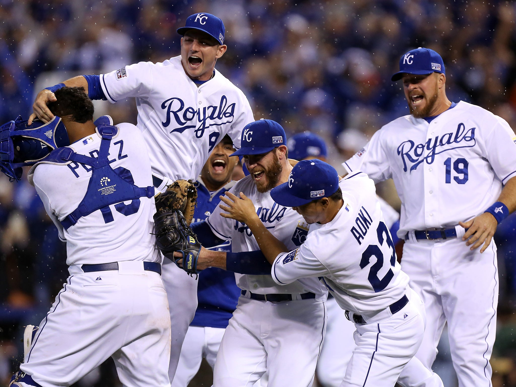 World series 2014 usa falls in love with the kansas city royals the independent