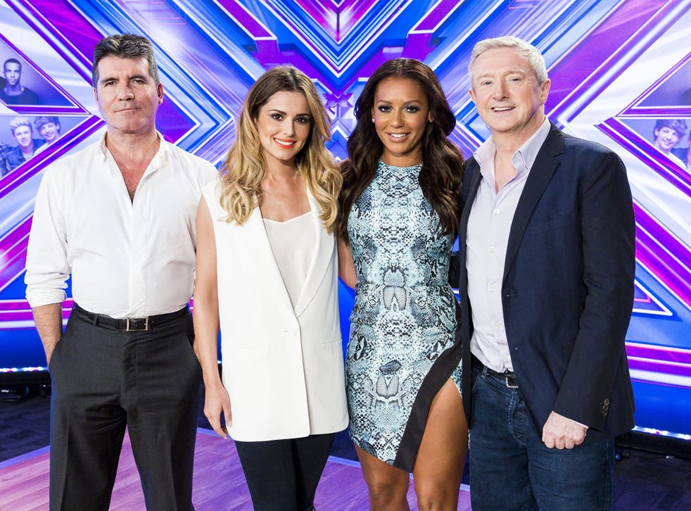 Simon Cowell, Cheryl Fernandez-Versini, Mel B and Louis Walsh formed last year's X Factor judging panel: Cowell has had his hirsute hand in more than 70 Top 30 songs