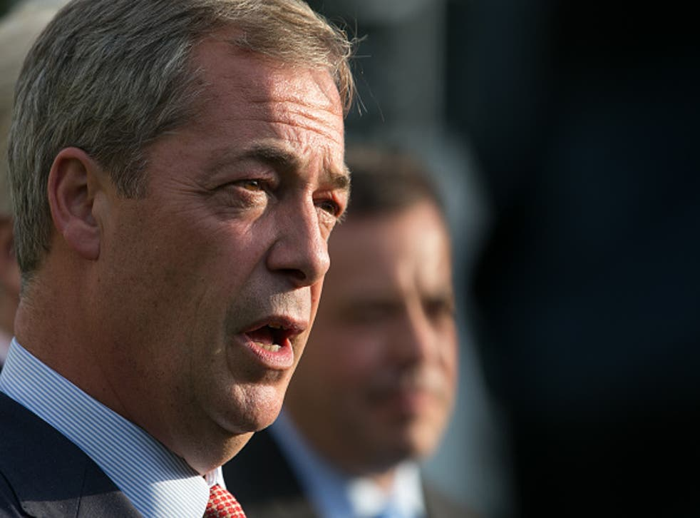 Nigel Farage rules out Ukip pact with Tory party