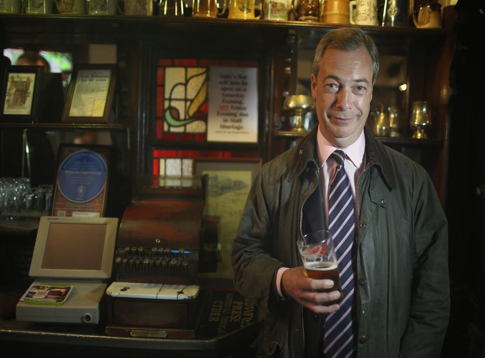 Farage says his party would prop up a minority Conservative government in return for a swift and fair EU referendum