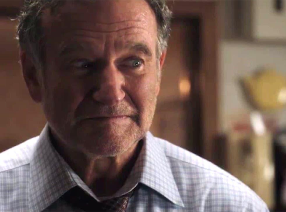 Robin Williams as the grumpy father Mitch