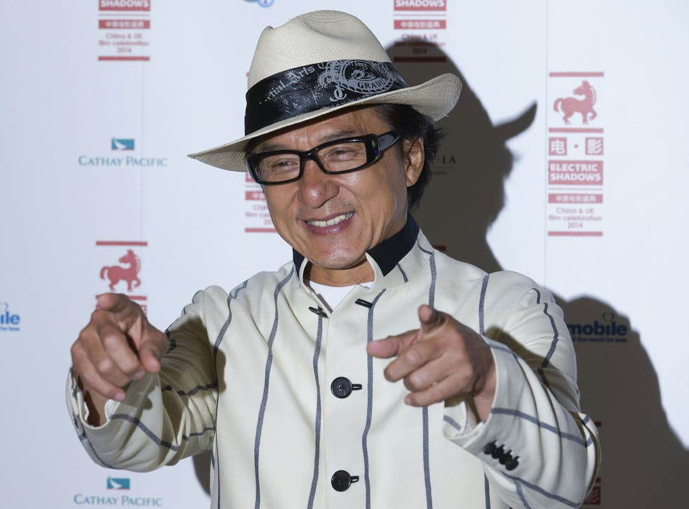 Jackie Chan has urged protesters to be rational, saying their actions have hurt the economy