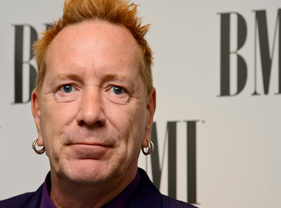 """John Lydon says he feels """"a bit responsible"""" for the death of bandmate Sid Vicious"""
