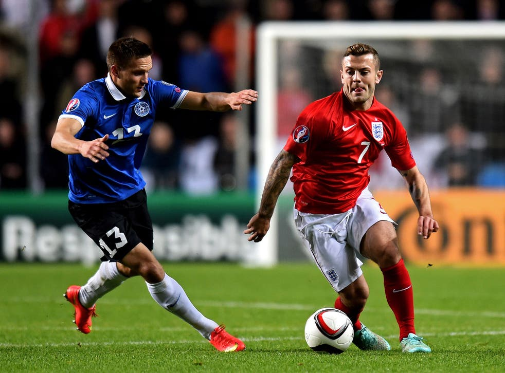 Jack Wilshere was excellent in a holding role for England this week