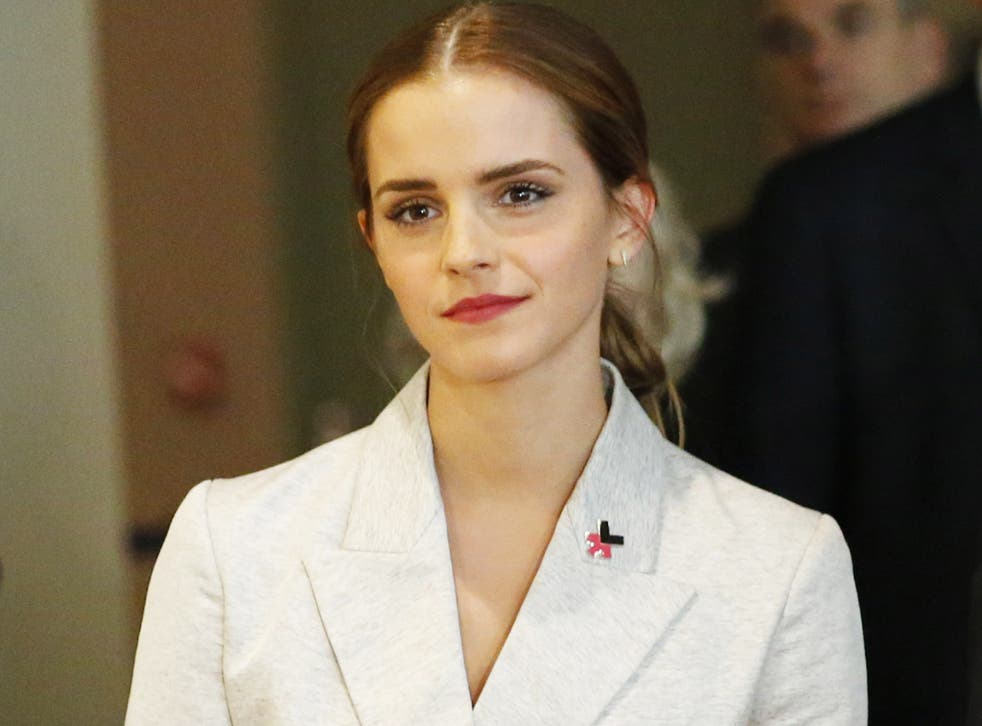 Emma Watson's HeForShe campaign calls for men to advocate the cause of gender equality
