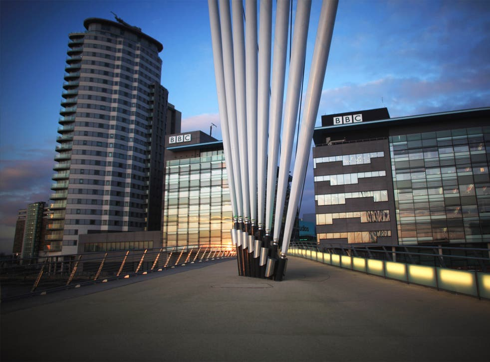 The BBC blog was rapidly retweeted by the corporation's supporters