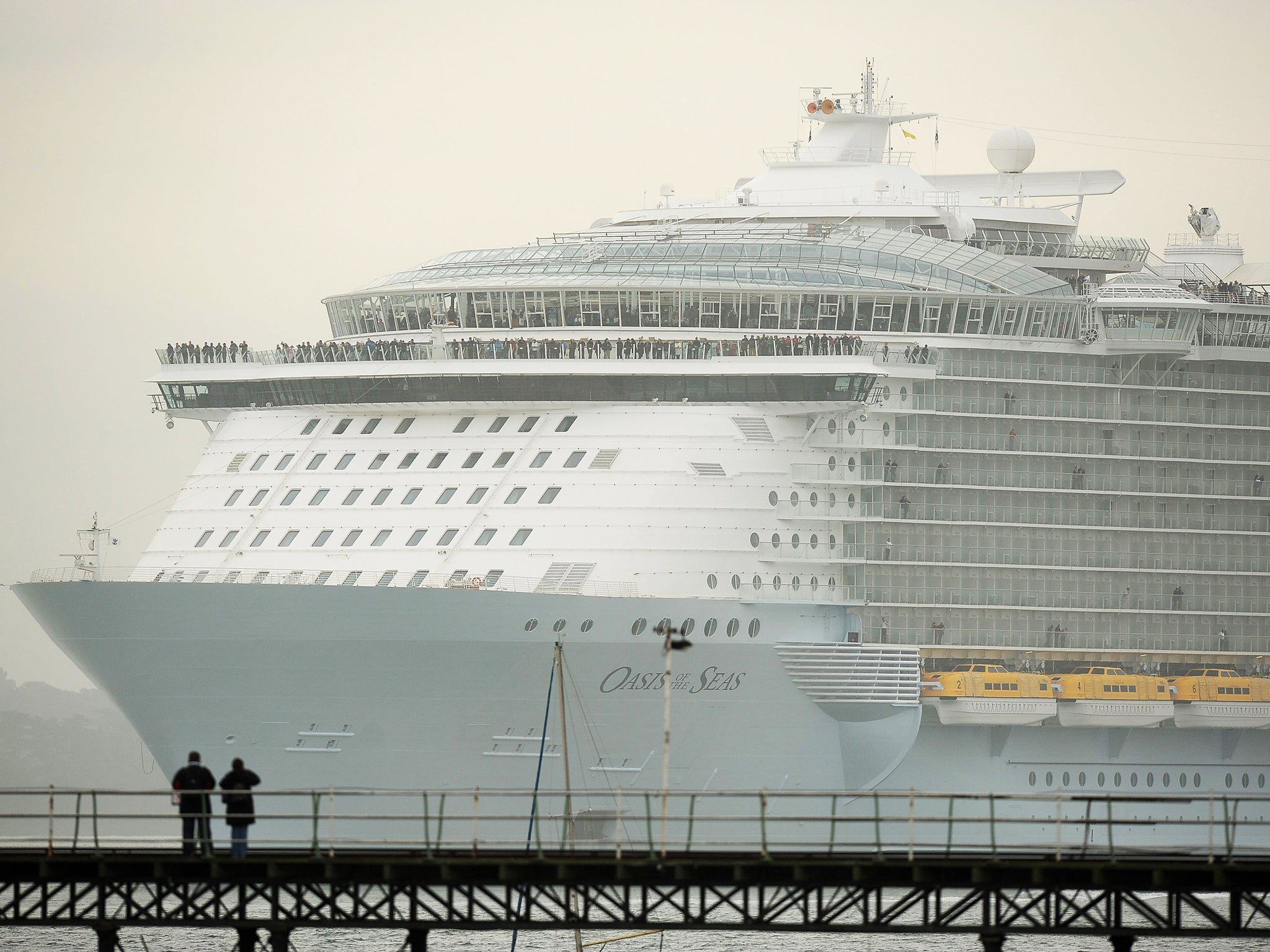 Winter cruises are riskiest for infection