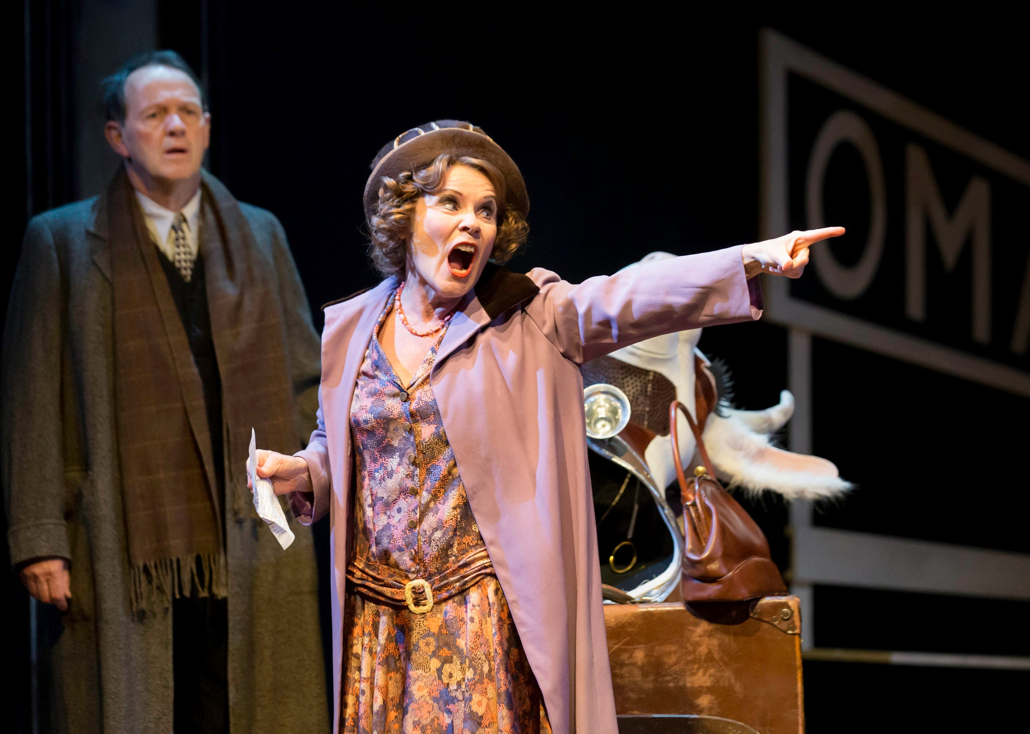 gypsy chichester festival theatre review imelda staunton puts  ow  wow factor