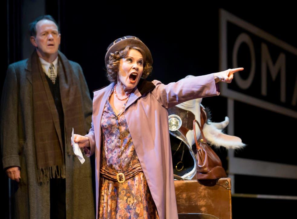 Magnificent: Imelda Staunton in Gypsy