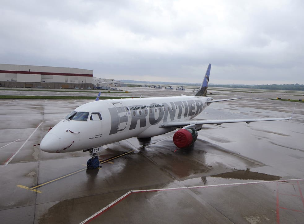 A Frontier Airlines steward apparently thought passenger was an air marshal (file pic)