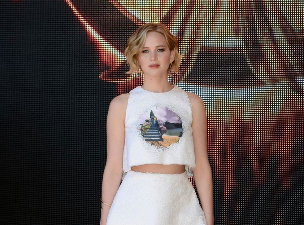 Unwanted attention: Actress Jennifer Lawrence