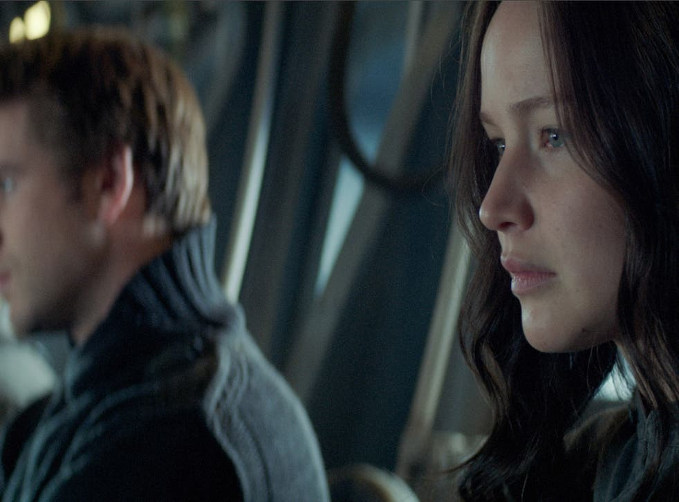 Watch Jennifer Lawrence Return to District 12 in the