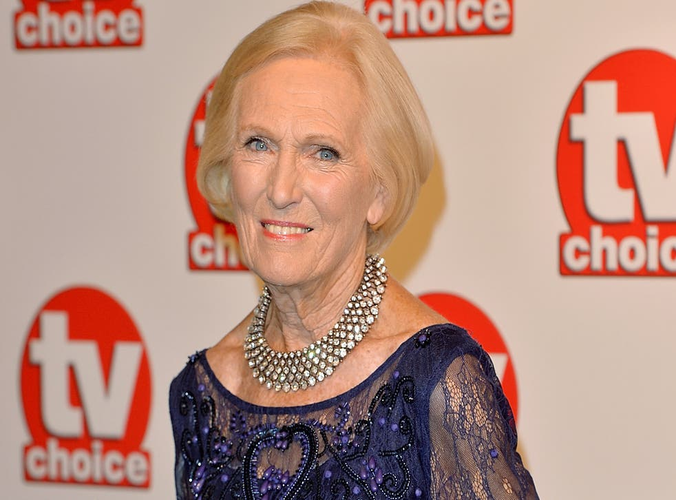 Mary Berry has brushed off the Danny Dyer 'ear licking' incident