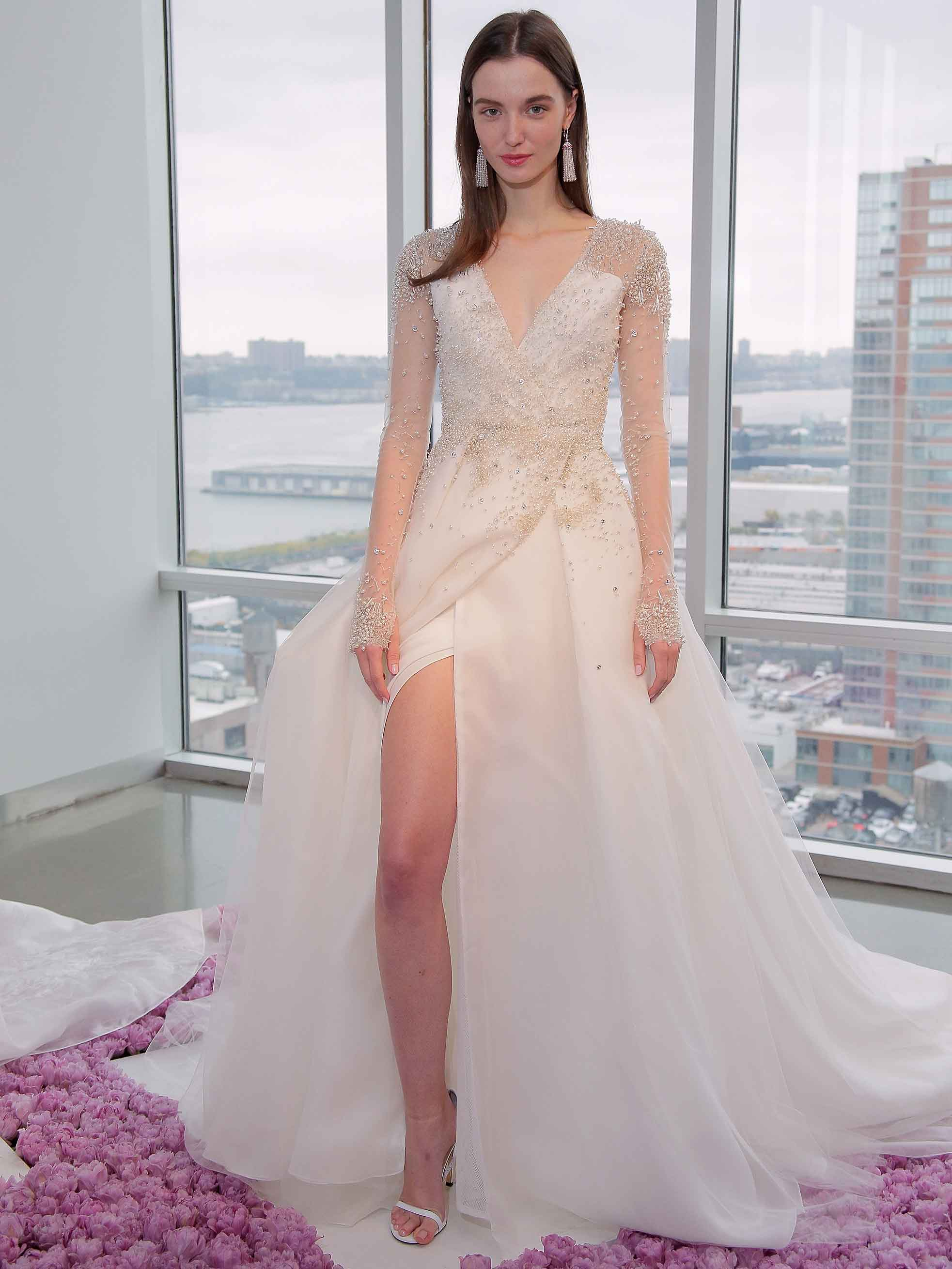 The best wedding dresses from New York Bridal week | The Independent