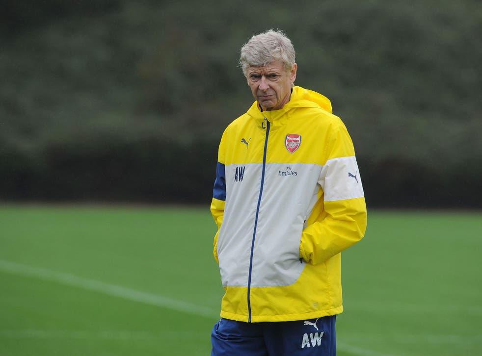 Arsene Wenger stopped short of saying English players are more loyal