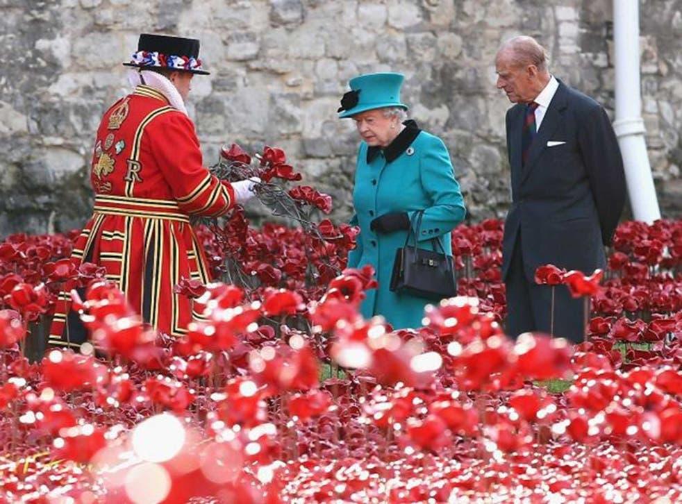 Queen Elizabeth II and Prince Philip, Duke of Edinburgh visit the installation