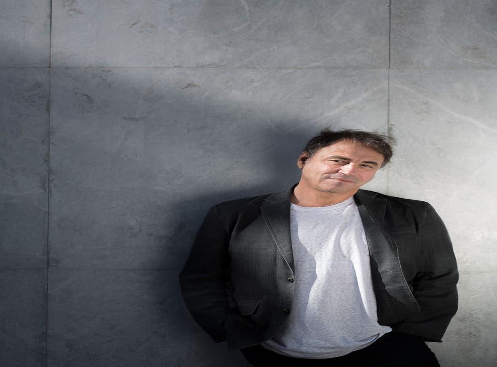 On a roll: Author Anthony Horowitz