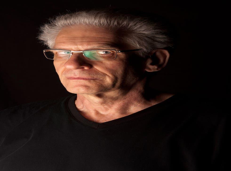 Perversely playful: Director David Cronenberg