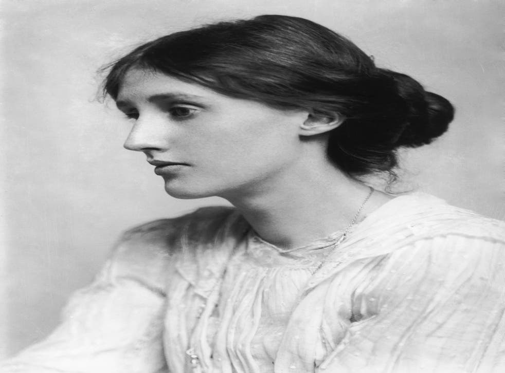 Great intellect at work: Author Virginia Woolf