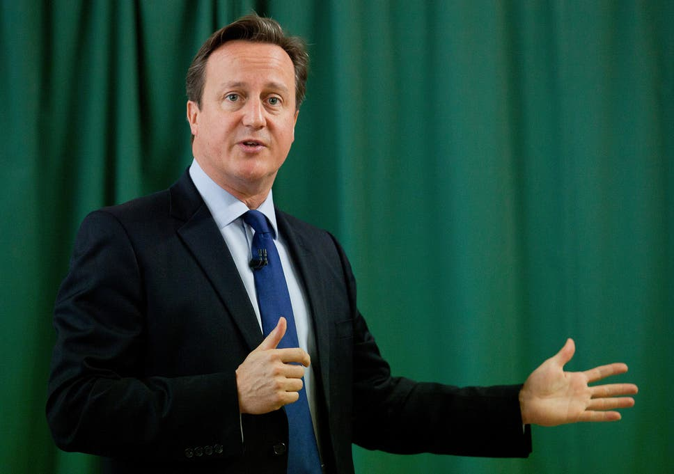 David Cameron Criticised For Refusing To Wear Feminism Charity T