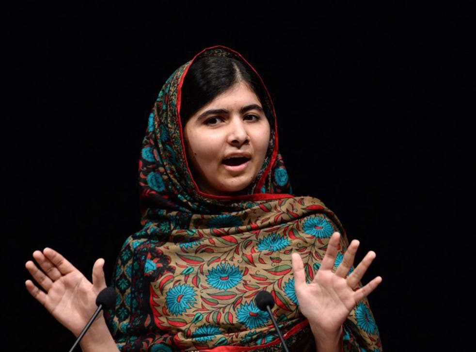 Malala Yousafzai was defying odds by going to a school in the Swat district