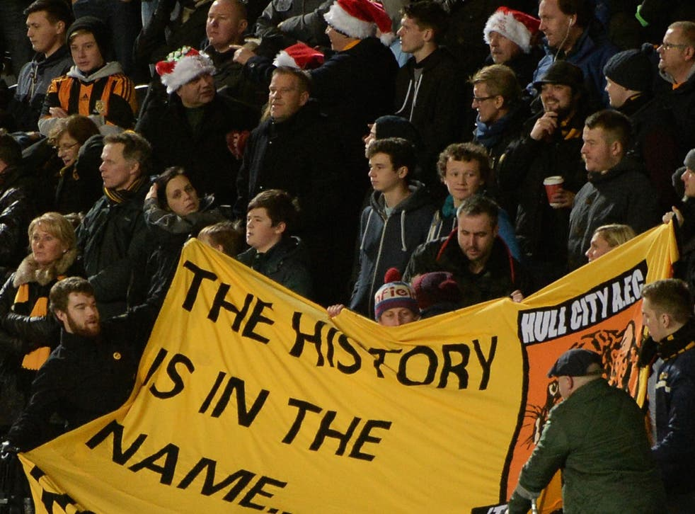 Hull City fans have been up in arms over plans to change the club's name to Hull Tigers