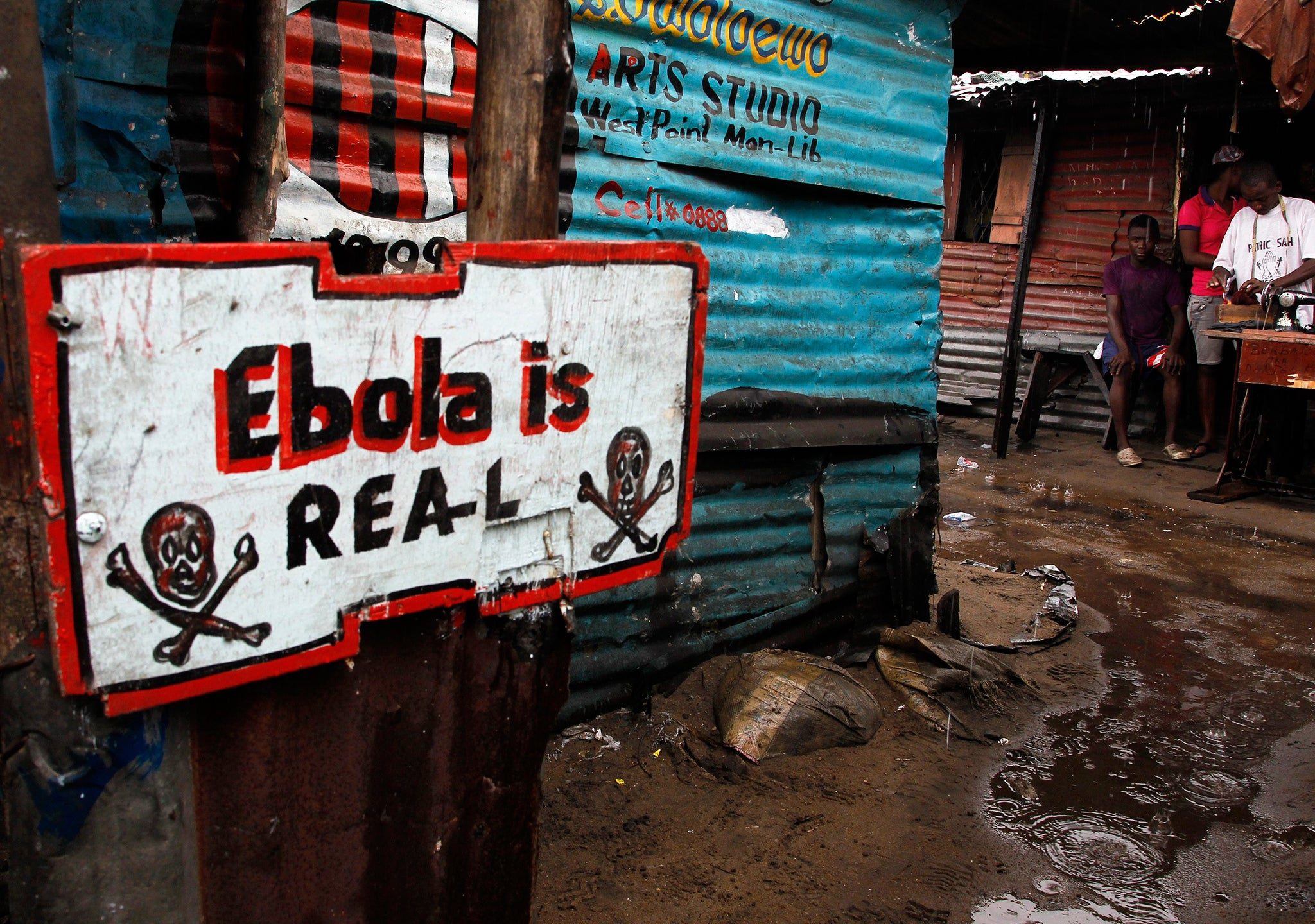 The Ebola crisis is becoming an impossible situation