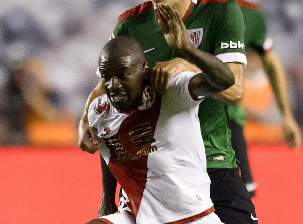 Gael Kakuta in action for Rayo