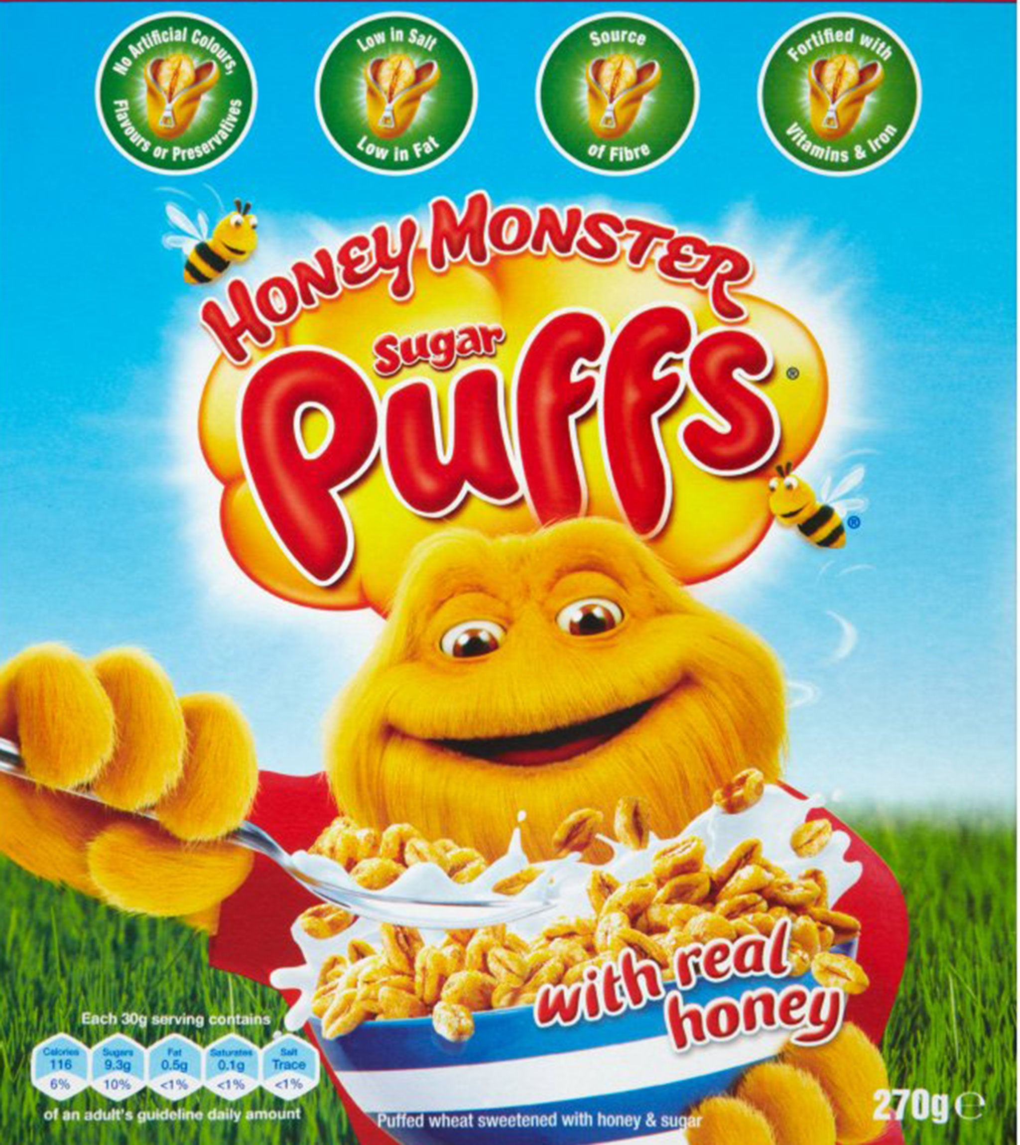 Sugar puffs renamed honey monster puffs to play down association sugar puffs renamed honey monster puffs to play down association with sugar the independent ccuart Choice Image
