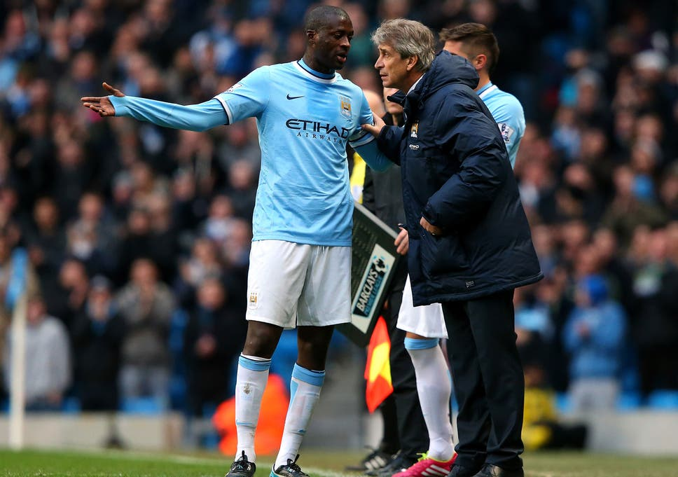 92ed428ddb5 Manuel Pellegrini wants more Manchester City players to join Yaya Toure on  Ballon d'Or shortlist