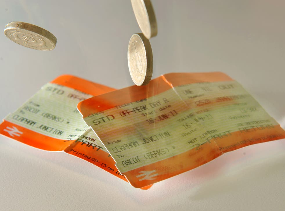 Last year, rail fares for season ticket holders increased by an average of 4.2 per cent