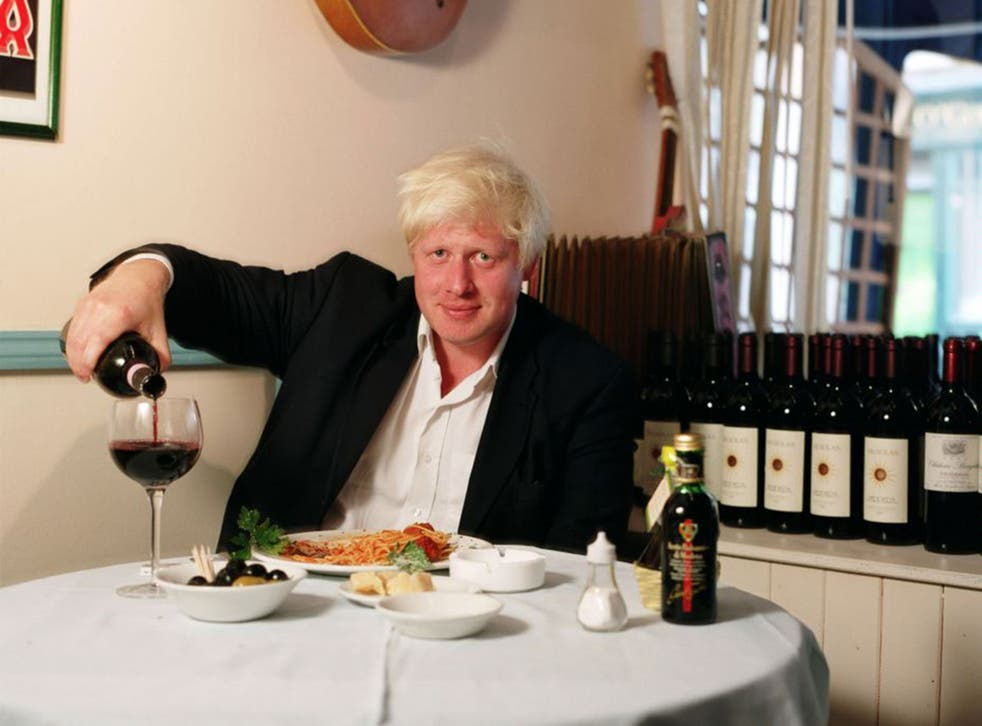 Boris Johnson didn't get where he is today by being abstemious