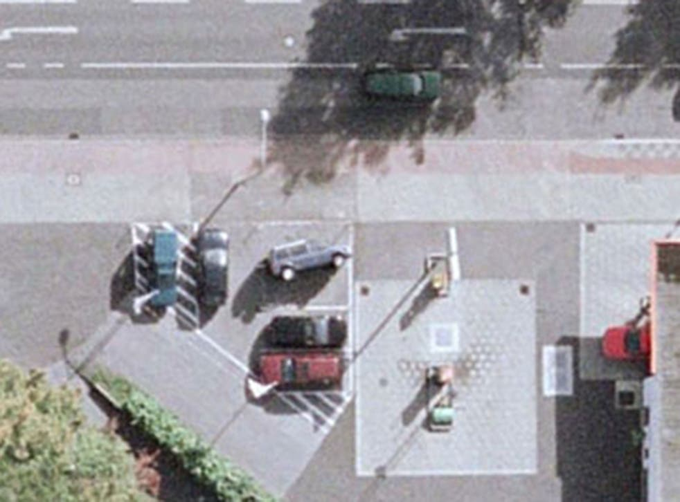 A view of car-tipping from space