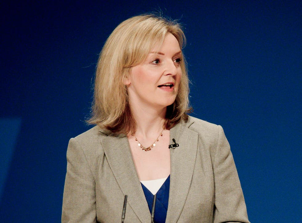 The Environment Secretary Liz Truss wants to see crops, not solar panels, in British fields