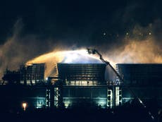 Didcot B Power Station fire: Plant may not be fully operational for