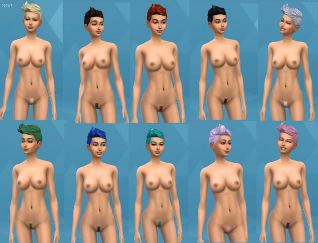 Sims 4 Players Have Perfected The Dubious Art Of Nude Mods Nsfw