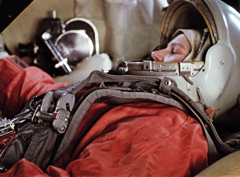First woman: Valentina Tereshkova