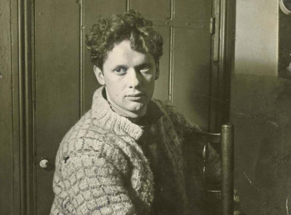 Dylan Thomas drank himself to death in New York aged just 39 (PA)