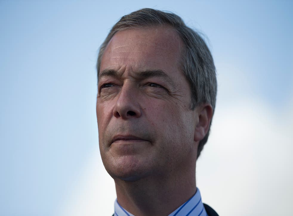 Ukip leader Nigel Farage has been fined £200 by the Electoral Commission