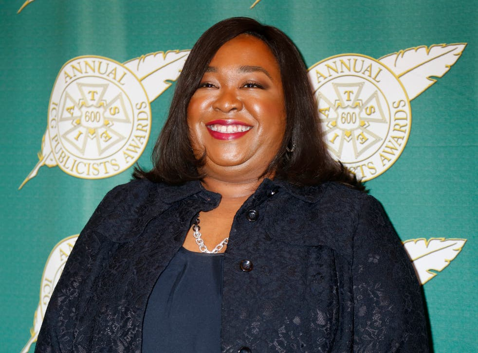 """TV writer and producer Shonda Rhimes has shut down criticism that """"gay scenes"""" in her shows """"add nothing to the plot"""""""