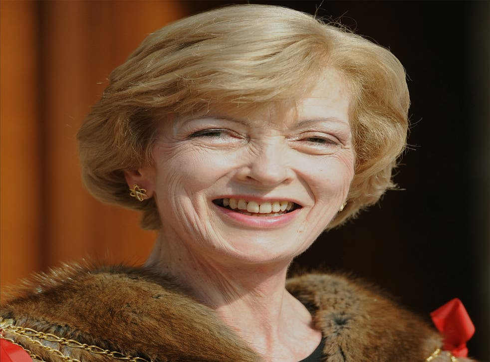 Fiona Woolf says her links with Lord and Lady Brittan do not amount to a 'close association'