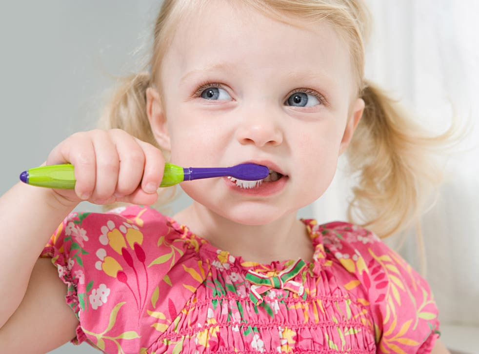 Teeth should be brushed twice a day to prevent tooth decay